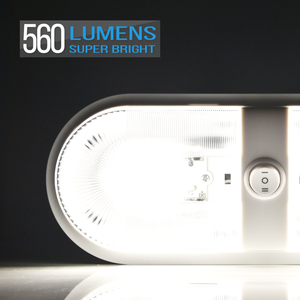 Image 3 - Micضبط 5 قطعة 10 24 فولت LED RV سقف مصباح سقف مزدوج RV الإضاءة الداخلية مع 3 Way التبديل ل مقطورة تخييم قارب 4000 4500K