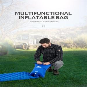 Image 5 - Naturehike Waterproof Inflatable Cushion Universal Air Bag Portable Easy Inflatable Bag Moisture proof Picnic Cushion Air bags