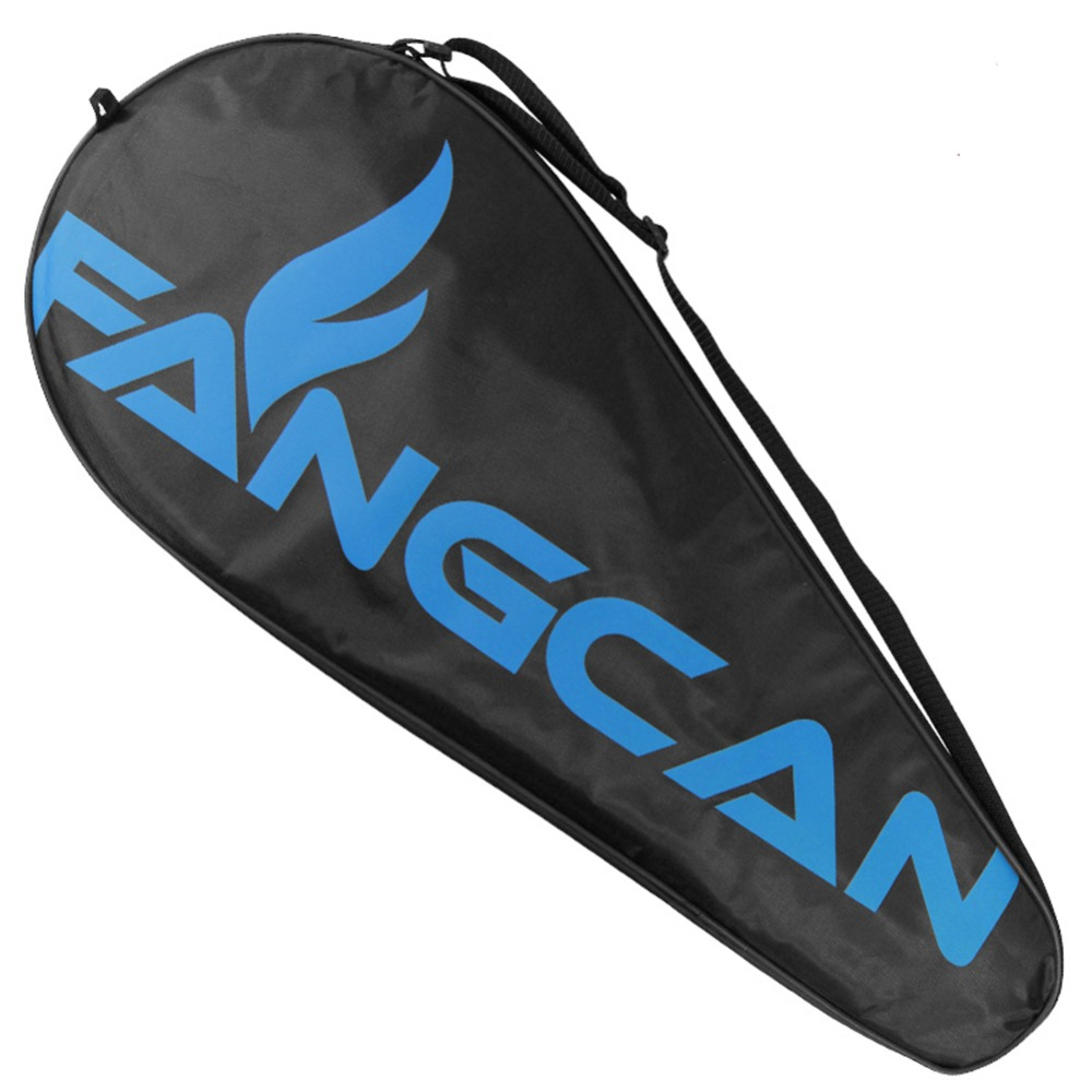 FANGCAN-Single-Tennis-Racquet-Cover-Black-Tennis-Racket-Bag-with-Adjustable-Shoulder-Strap