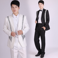 Custom Made Mens 4 piece Suits With Pants For Wedding Groom Slim Fit Costume Homme Mens Black Party Tuxedo Tailcoat
