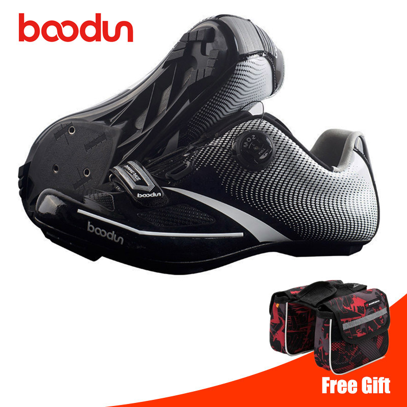 BOODUN Road Cycling Shoes zapatillas ciclismo Bike Men Self-Locking Racing Breathable Ultralight Professional Bicycle SneakersBOODUN Road Cycling Shoes zapatillas ciclismo Bike Men Self-Locking Racing Breathable Ultralight Professional Bicycle Sneakers
