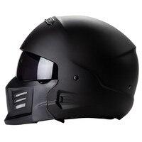 ZR881 COMBAT HELMET outlooking design and safety motorcycle helmet zombies racing modular helmet