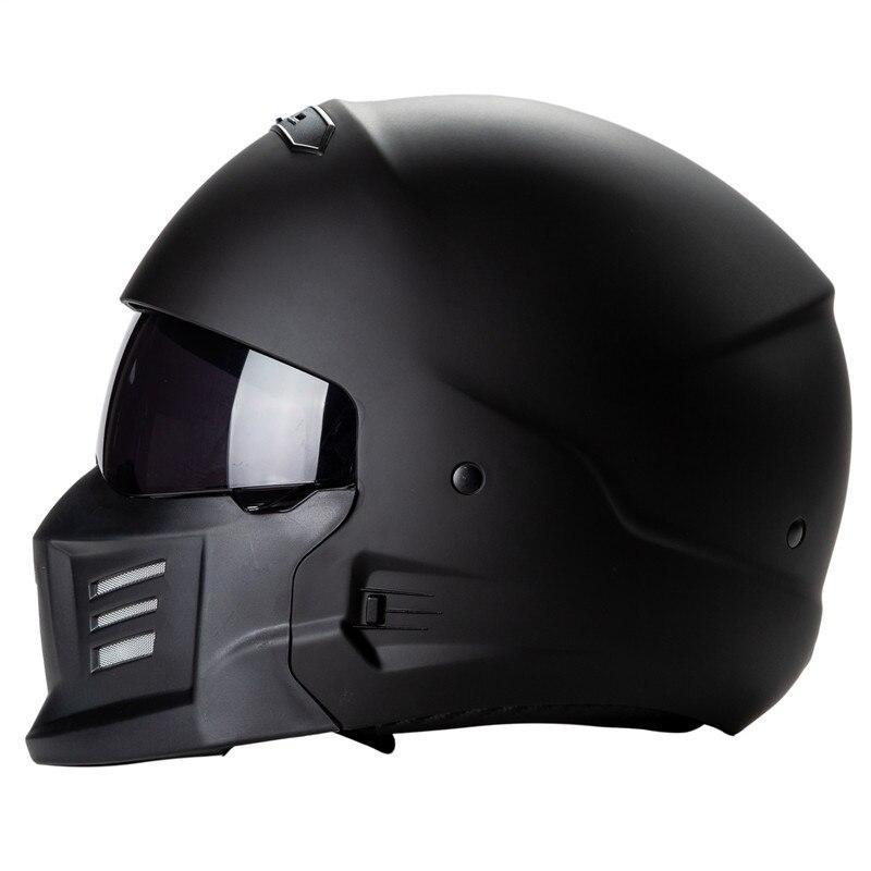 ZR881 casque de COMBAT EXO design extérieur et sécurité casque de moto zombies racing casque modulaire