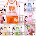 Children clothes fashion Leisure summer girls boys clothes cotton Vest T shirt + shorts suit cartoon baby clothes set