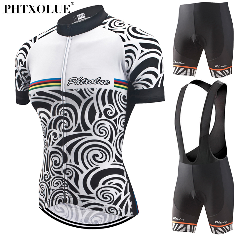 Phtxolue Women Cycling Jersey Set Bike Clothes Summer Bicycle Clothing Maillot Ropa Ciclismo Cycling Set