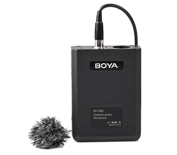BOYA BY-F8C Cardioid Condenser Lavalier Microphone  Video Instrument Interview  for Canon Nikon Sony iPhone HuaWei Smartphone