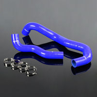 US Shipping Blue For 03 07 FORD F250 6 0L Diesel Twin Beam Silicone Radiator Hose