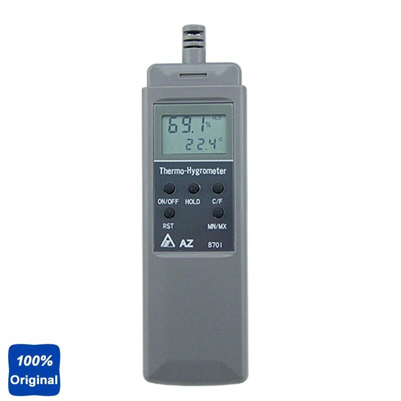 Digital Pocket Type Industrial Hygro-Thermometer Temperature Humidity Meter AZ8701 az 8703 pocket type hygro thermometer temperature humidity tester