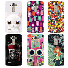 Fashion Printed Case For LG Optimus G4 H815 H810 H811 VS986 LS991 F500 Cover Original soft silicone Phone Case Back Shell(China)