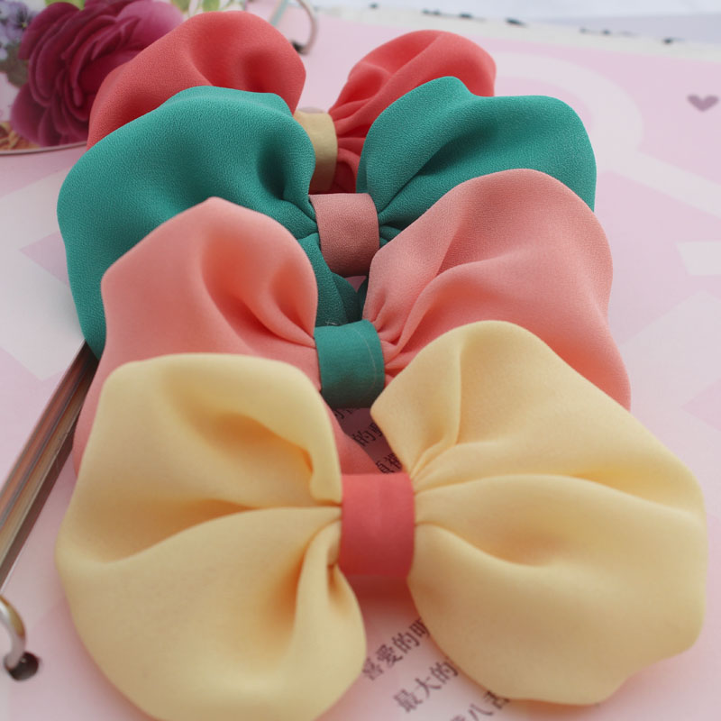 100pcs Diy yarn exquisite handmade child bow accessories hair accessory shoes decoration material
