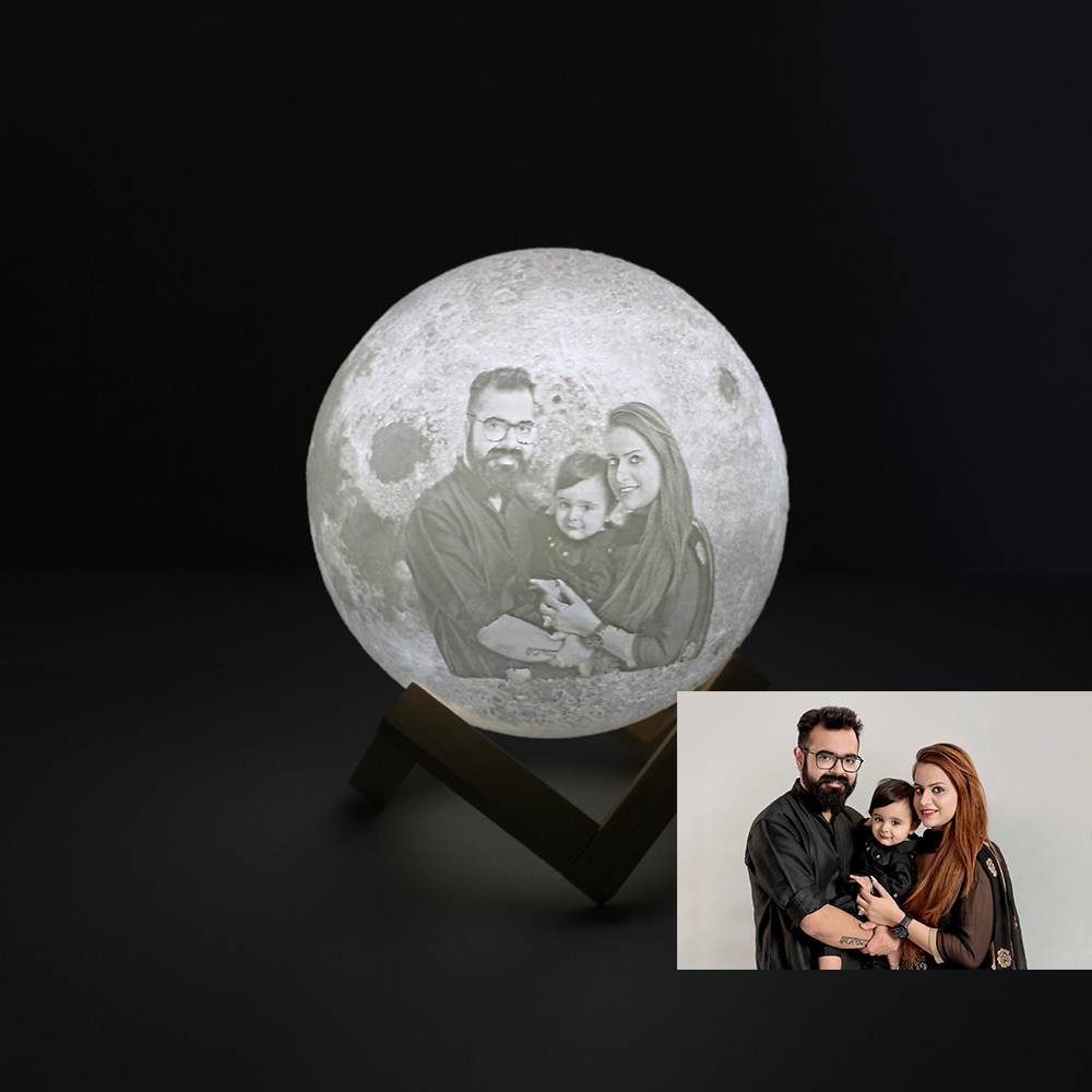 3D Printer Parts Custom Made Moon Lamp 3D Printing Moon Photo Text Pattern On The Light Glowing Moon Lamp Touch Variable Colors3D Printer Parts Custom Made Moon Lamp 3D Printing Moon Photo Text Pattern On The Light Glowing Moon Lamp Touch Variable Colors