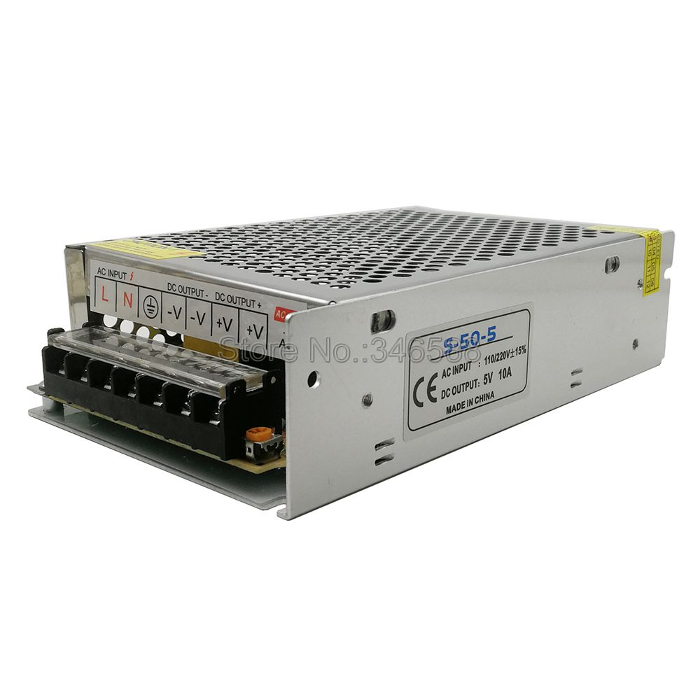 5V Regulated Switching Power Supply 5A 10A 20A 30A 40A 60A AC110V / 220V to DC5V Power Supply Unit 5 Volt Power Driver-2