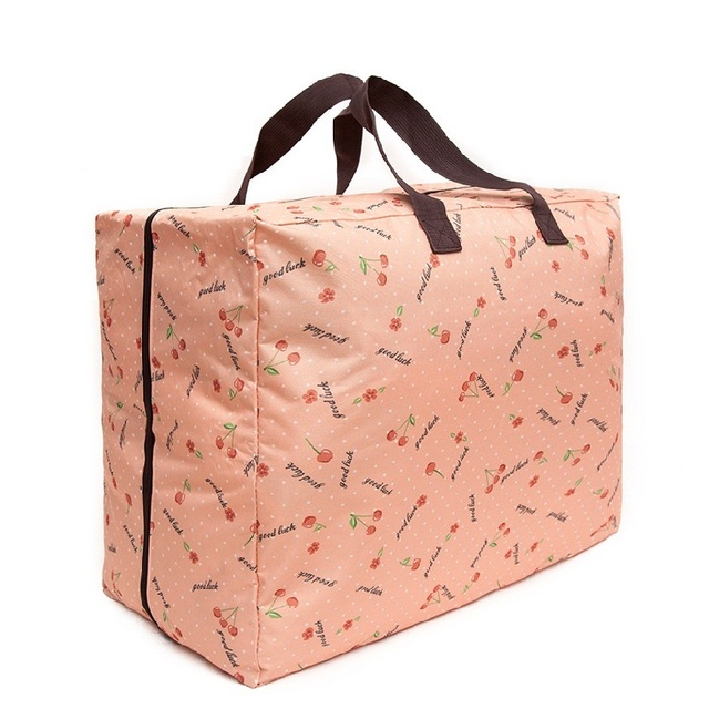 Women Handbags Waterproof Oxford Cloth Moving Bag Washable Quilt Clothing