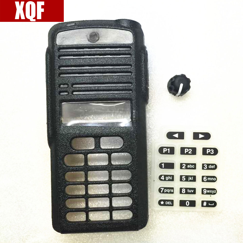 XQF Two way radio housing case cover for Motorola CP1660 with full keypad walkie <font><b>talkie</b></font> accessories