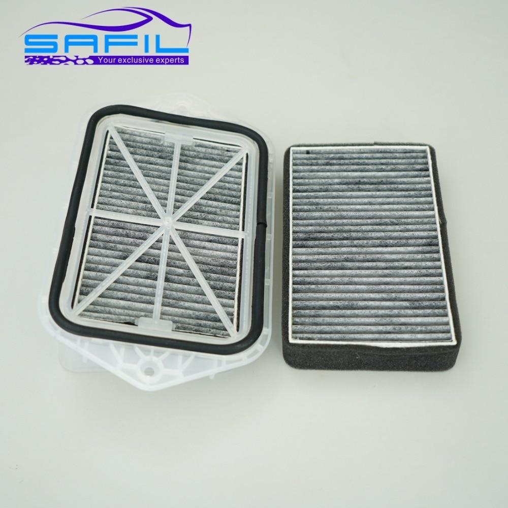 2 trous filtre d'habitacle pour Vw Sagitar CC Passat Magotan Golf Tiguan Touran audi Skoda Octavia externe filtre à air # FT100