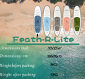 FunWater 305*74*10cm inflable Tabla de Paddle tabla de surf