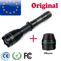 UniqueFire UF 1508 IR 850nm Infrared Radiation Night Vision 38mm LED Flashlight+50mm Light Lamp Holder Design For Hunting