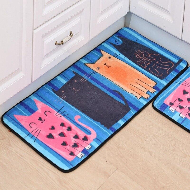 Cartoon Lovely Carpet For Kitchen & Kids Room