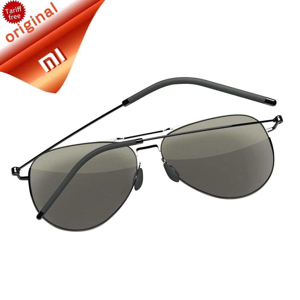 Original Xiaomi Mi Smart Sunglasses TS Nylon Polarized Stainless Sun Mirror Lenses  100% UV-Proof Light For Man Woman mry polarized replacement lenses for oakley batwolf sunglasses 24k gold