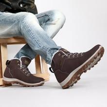 Новая зимняя плюс бархат Для мужчин Треккинговые ботинки Нескользящая дышащая Треккинг Прогулки Спортивная обувь открытый альпинизм Сапоги и ботинки для девочек