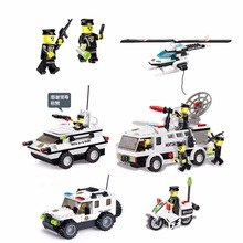 Toys Building Blocks Toys Boys' or Girl's Learning Toys Educational Toys Police Station Simulation