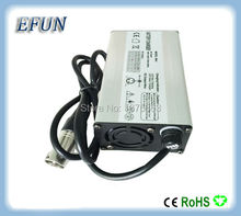 Free shipping high quality 36V 2A 120W 42V 2A charger for 36V Li-ion electric bicycle battery down tube battery