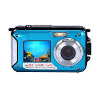 Free Shipping Wholesale Hot Sale A 919 High Quality Double Screen Waterproof Camera 24MP 16x Digital