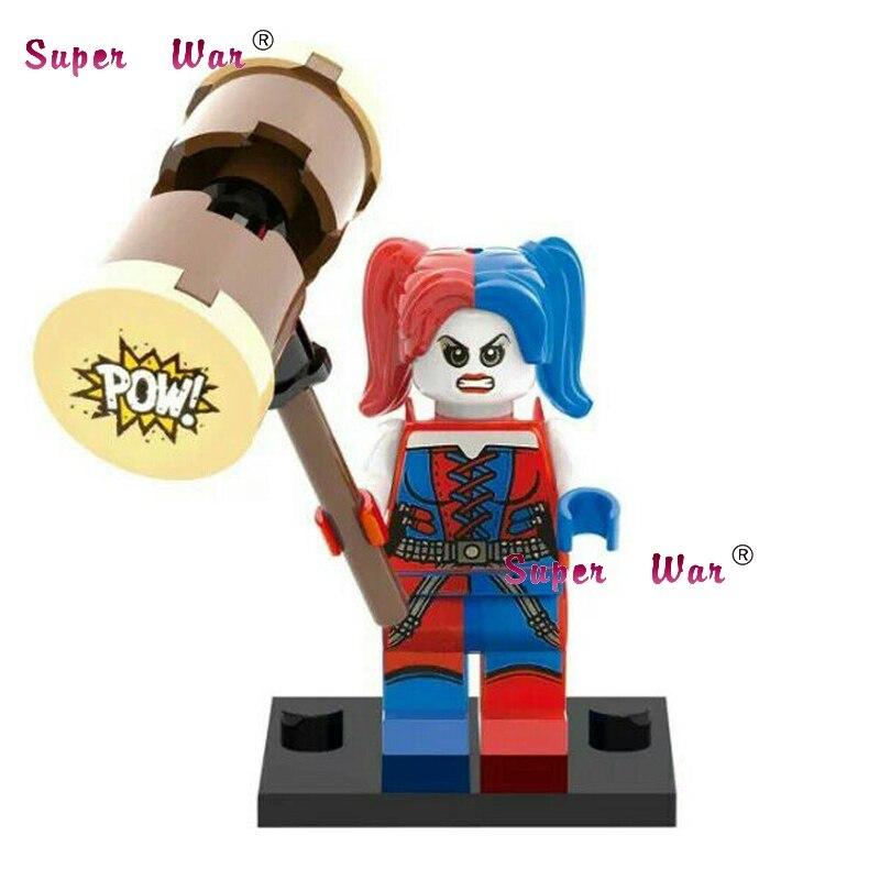 Toys & Hobbies 20pcs Star Wars Superhero Marvel Sdcc Harley Quinn Building Blocks Action Figure Bricks Model Educational Diy Baby Toys Delaying Senility
