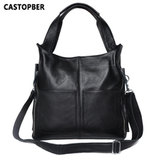 Europäischen Und Amerikanischen Stil Frauen Handtasche Mode Große Einfache Tasche Damen Handtaschen Designer Hohe Qualität Echten Leders