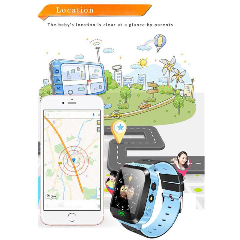Greentiger Q02 Kinderen Slimme Horloge Camera Verlichting Touch Screen Sos Call Lbs Tracking Locatie Finder Kids Baby Smart Horloge
