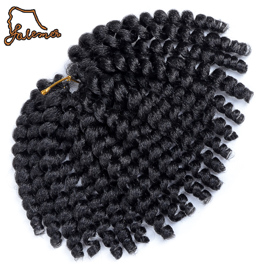 falemei 80g 10inch 2x jamaican bounce kinky twist hair tresse crochet braids extensions wand. Black Bedroom Furniture Sets. Home Design Ideas