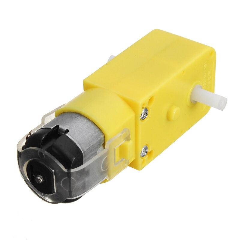 4 шт., мотор-редуктор постоянного тока 1: 120, мотор-редуктор для Arduino, умный автомобильный робот, детали для самостоятельной сборки