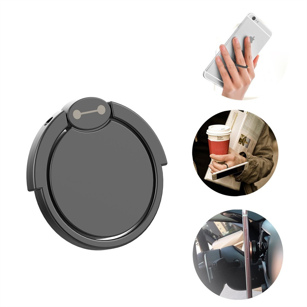 Universal Phone finger ring holder 360 Degree stand for Samsung Xiaomi iPhone X 7 6 55 5S