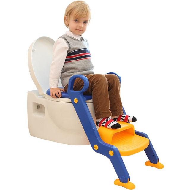 Viagem Potty Cadeira Escada Bebê Higiênico Potty Higiênico Criança Dobrável Grande Crianças Higiênico sSeat Exercício Do Bebê da Criança de Segurança Escada Dobrável
