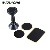 IWOLFONE Universal Gps Bracket For Iphone 8 7Plus Samsung Stand Magnetic Phone Mount Holder Car Auto