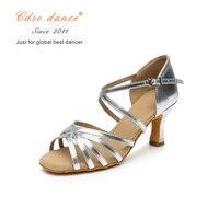 silver 7cm heel