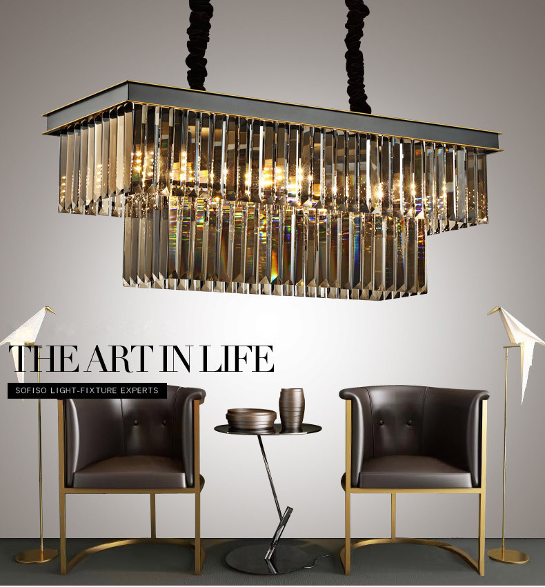 Loft Modern Crystal Chandelier Light for dining room led crystal chandeliers round lamp crystal K9 E14 pendant Lamp ZDD0088 vintage birdcage crystal chandelier lighting black rustic bird cage pendant hanging light chandeliers lamp for dining room bar