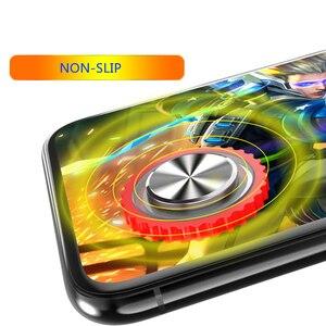 Image 5 - Novo q10 jogo redondo joystick rocker telefone móvel/tela de toque ventosa para iphone android tablet metal botão controlador