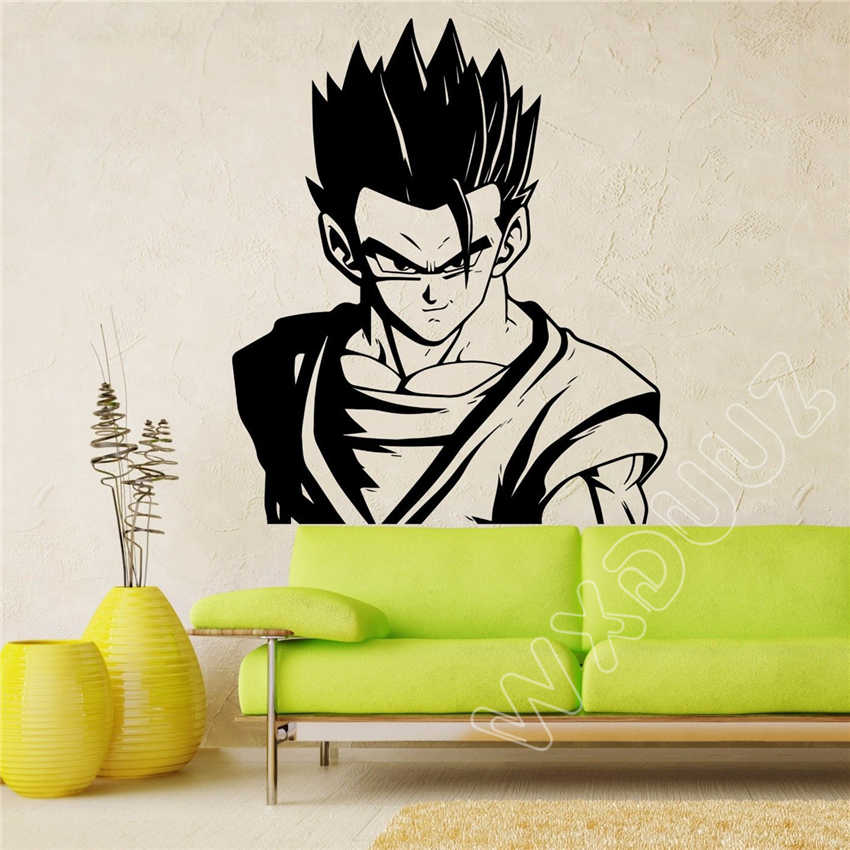 Wxduuz Adult Gohan Wall Decal Dragon Ball Z Dbz Anime Wall