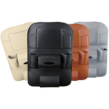 Car seat back storage Organizer bag Universal Microfiber leather Multifunction box