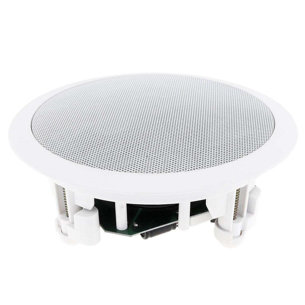 Neueste CSL 718 25W Wand montiert Decke Lautsprecher Hintergrund Musik DJ Sound Bar TV Lautsprecher Lautsprecher Fit für Home shop-in Deckenlautsprecher aus Verbraucherelektronik bei