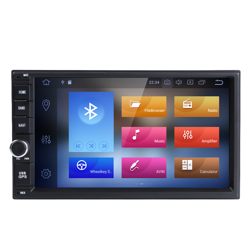 цена на 4G Octa core 2 din 7 inch android 8.0 Universal Car DVD Player juke qashqai almera x trail note X-TRAIL for Nissan GPS+2din DAB+