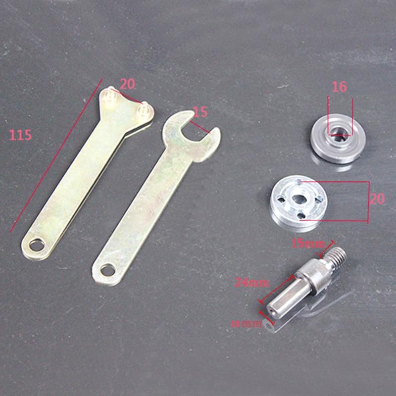 Biella per smerigliatrice angolare di conversione trapano elettrico - Accessori per elettroutensili - Fotografia 4