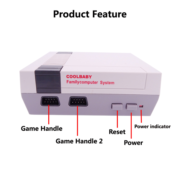 Retro Video Game Console with Classic 600 Games Built-in for 4K TV PAL & NTSC HDMI/AV Output Mini TV Handheld Game