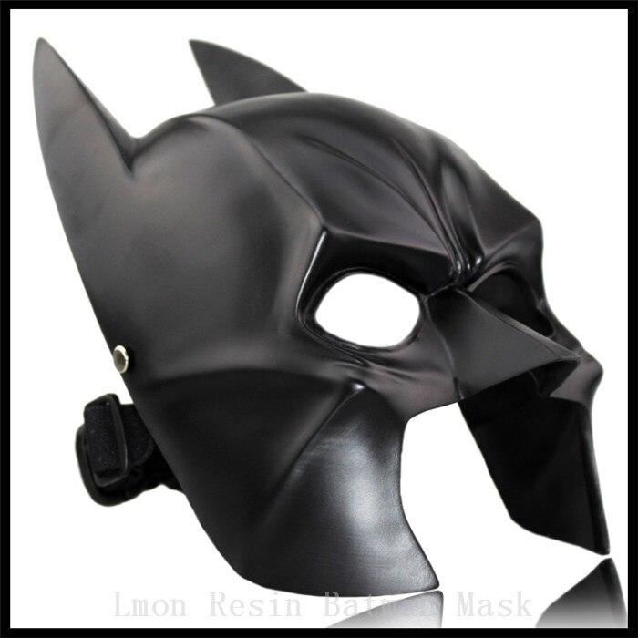 Топ Класс Бэтмен смолы маски черный moivestheme супергероя Маски для век для Темная ночь Masque костюм Косплэй Лидер продаж Бесплатная доставка