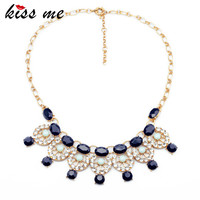 New Styles 2014 Fashion Jewelry Gold Plated Round Pendant Necklace