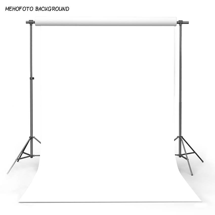 ستارة خلفية للتصوير من Mehofoto بلون أبيض نقي خلفية للصور
