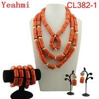 Luxury African Bridal Jewelry Sets Costume Choker Dark Blue Dubai Jewelry Sets For Women Free Shipping CL382 1