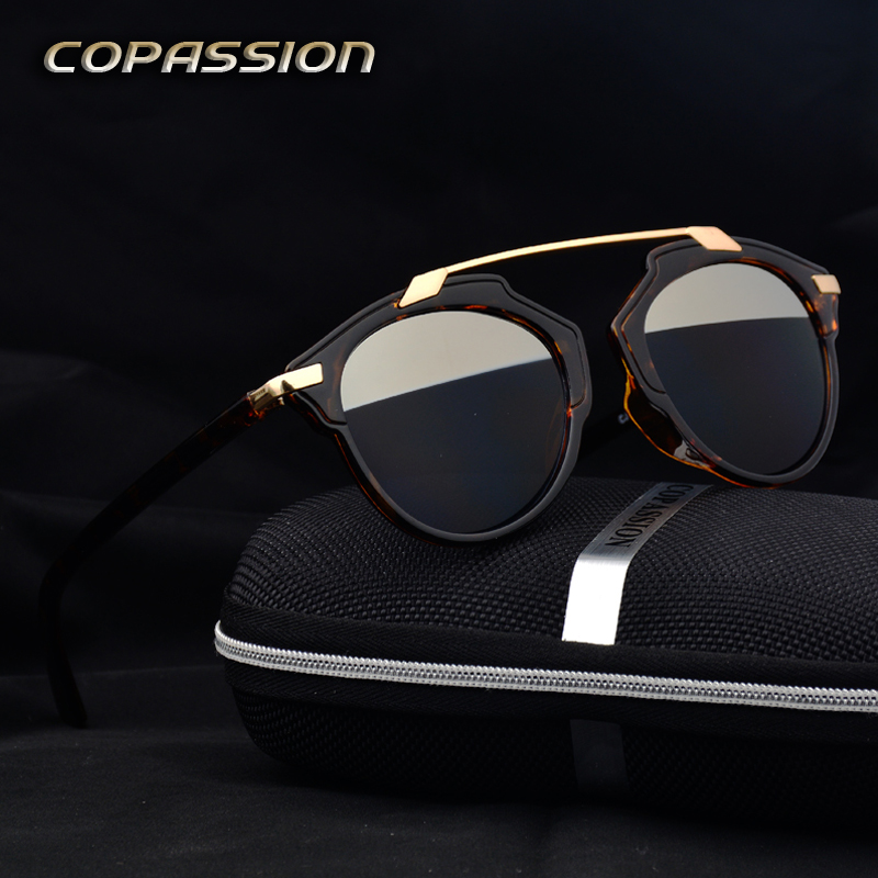 New Fashion Summer luxury brand Sunglasses Women 2017 retro glasses driver uv400 goggles oculos vintage gafas de sol mujer