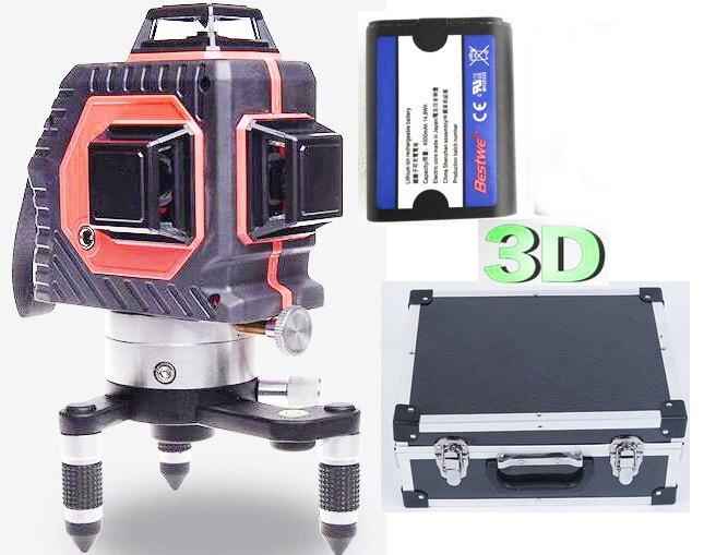 Buy 12 Line Laser Level Self Leveling 360 Vertical And Horizontal Leveling